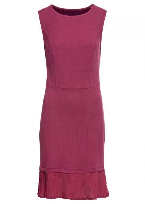 Džersejové šaty z plisu