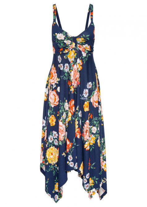 Šaty s asymetrickým zakončením