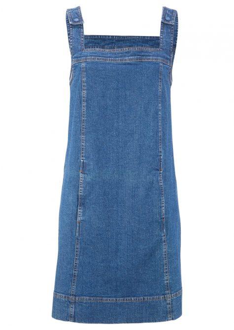 Strečové džínsové šaty