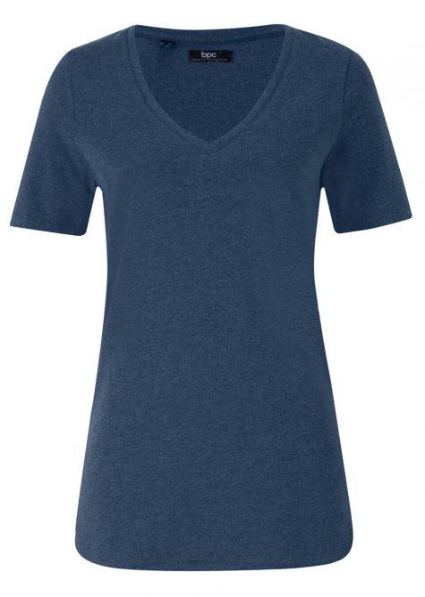 Tričko s hlbokým V-výstrihom