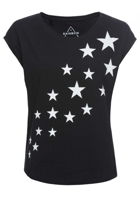 Tričko s hviezdičkovou potlačou